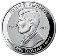 100 лет со дня рождения Д.Кеннеди - Британские Виргинские о-ва