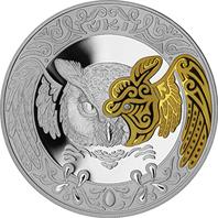 Филин (сова) ÚKI - 500 тенге