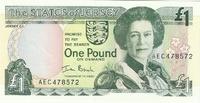 Джерси, 1 фунт, с 1963 года