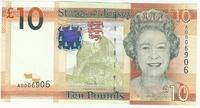 Джерси, 10 фунтов, с 1972 года
