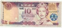 Фиджи, 10 долларов, 2002 г