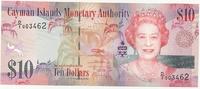 Каймановы острова, 10 долларов, 2010 г