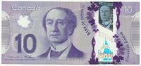 Канада, 10 долларов, 2013 г