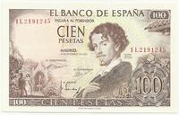 Испания, 100 песет, 1965 г