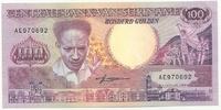 Суринам, 100 гульден, 1988 г
