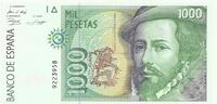 Испания, 1000 песет, 1992 г