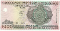 Вануату, 1000 вату, 1993 г