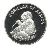 """""""Африканские гориллы"""" - Уганда, посеребрение"""