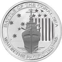 Битва в Коралловом море, 50 центов, 2014 год, Австралия