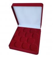 Коробка на 12 монет в капсулах (диаметр 46 мм)
