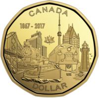 150 лет Конфедерации - Канада 2017, 1 доллар