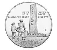 """""""Boys Town Centennial"""" (""""100-летие приюта для сирот"""") - Полдоллара США (Halfdollar) 2017 год"""