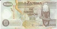Замбия, 500 квача, полимер