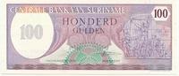 Суринам, 100 гульден, 1985г