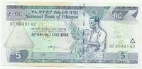 Эфиопия, 5 бирр, 2000-2008гг