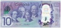 150 лет Конфедерации - Канада, 10 долларов, 2017 год, полимер