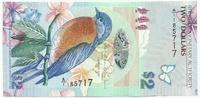 Бермудские острова, 2 доллара, 2009 год