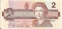 Канада, 2 доллара, 1986 г