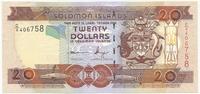 Соломоновы острова, 20 долларов 2008 год