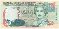 Бермудские острова, 20 долларов, 2000 г