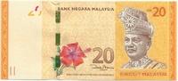 Малайзия, 20 ринггит, 2012 г