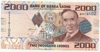 Сьерра-Леоне, 2 000 леоне, 2010г