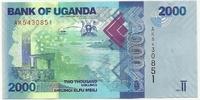 Уганда, 2000 шиллингов, 2010 г