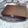 Деревянный футляр Vintage для 10 монет в капсулах (диаметр 46 мм)