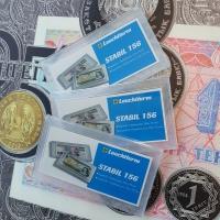 Пластиковая капсула STABIL для банкнот (156х75 мм). Leuchtturm