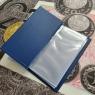 Альбом для банкнот, карманный (20 листов)