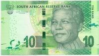 ЮАР, 10 рандов, Нельсон Мандела