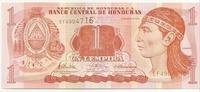 Гондурас, 1 лемпира, 1998 год