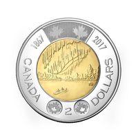 150 лет Конфедерации - Канада 2017, 2 доллара