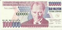 Турция, 1 000 000 лир, 1970 год