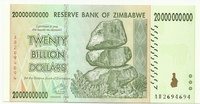 Зимбабве, 20 миллионов долларов, 2008г