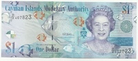 Каймановы острова, 1 доллар, 2010г