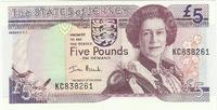 Джерси, 5 фунтов, с 1963 года
