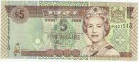 Фиджи, 5 долларов, 2002 г