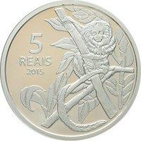 Олимпийские игры в Рио 2016 года Велоспорт/Обезьяна - Бразилия, 5 реал, 2015 год