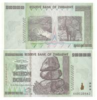 50 триллионов долларов, Зимбабве (Zimbabwe)