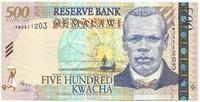 Малави, 500 квача, 1989 г