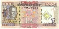 Гвинея, 1000 франков, 2010г