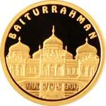 Золотая монета «Baiturrahman»