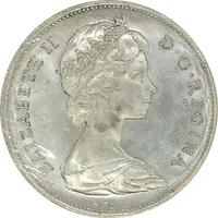 Канада, 1 доллар, 1966 г., Елизавета II, серебро