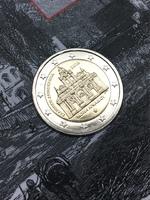 "2 евро Греция 2016 - ""Монастырь Аркади"" в блистере"