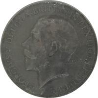 Великобритания, 1 пенни, король Георг V, бронза