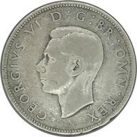 Великобритания, 2 шиллинга (флорин), 1937 г., Король Георг VI, серебро