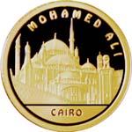 Золотая монета «MОHAMED ALI»