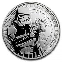 Штурмовик (Звездные войны) - серебро, 2 доллара 2018 год