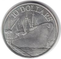 Корабль - 10 долларов, Сингапур